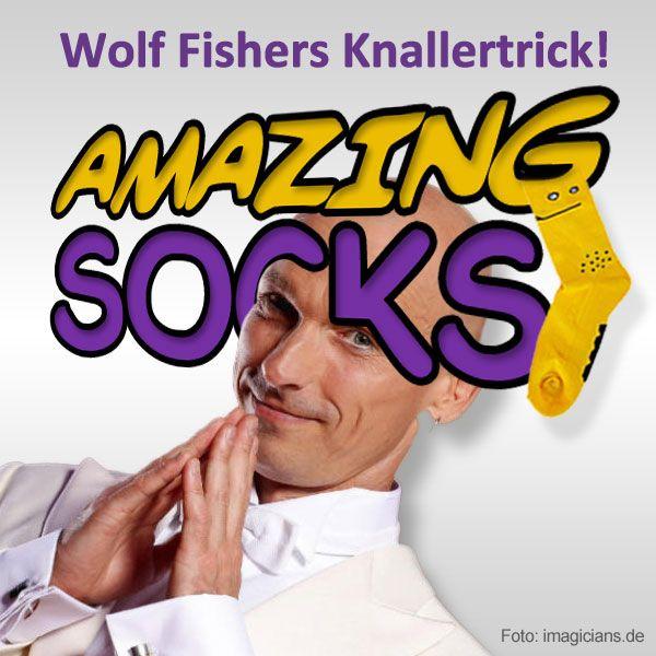 Amazing Socks - Wolf Fisher Zaubertrick