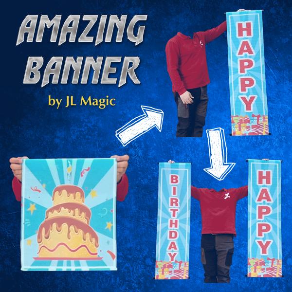 Amazing Banner Silk Happy Birthday