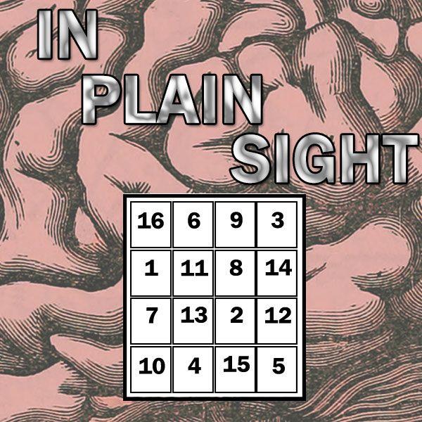 In Plain Sight Magisches Quadrat toller Mentaltrick