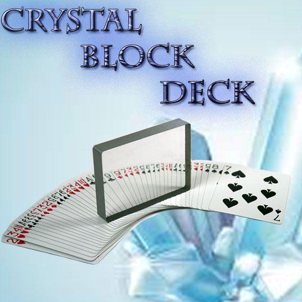 Crystal Block Deck Kartentrick Close Up