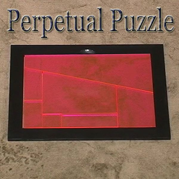 Perpetual Puzzle Tenyo 2017 Zaubertrick Puzzle des Lebens