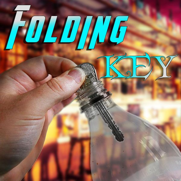 Folding Key Zaubertrick Stand-Up