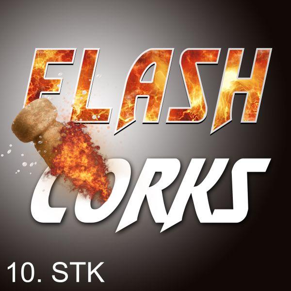Flash Corks Pyrokorken Pyrotrich Zauberzubehör