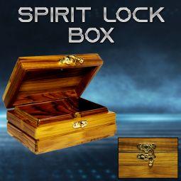 Spirit Lock Box Kästchen kann nur vom Zauberer geöffnet werden. Toller MiZaubertrick