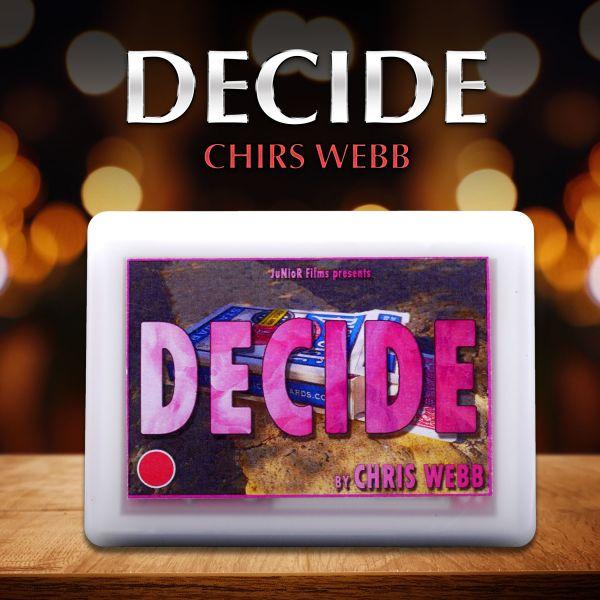 Decide by Chris Webb Zaubertrick mit Karten