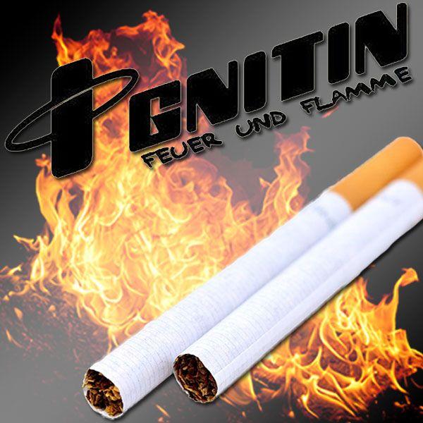 ignitin Zauberzubehör Zigarette zündet sich selber an