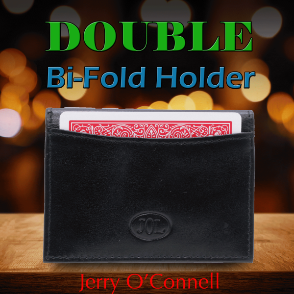 Double Bi-Fold Holder by Jerry O'Connell Zauberzubehör