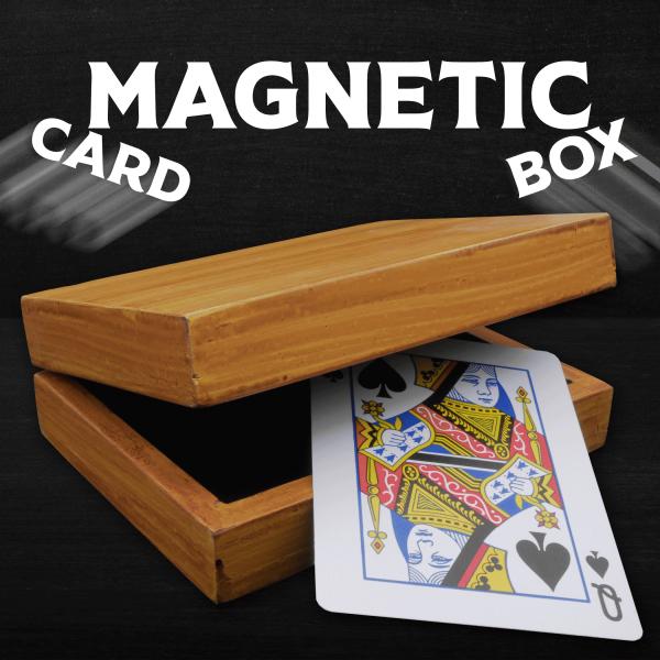 Magnetic Card Box Zaubertrick