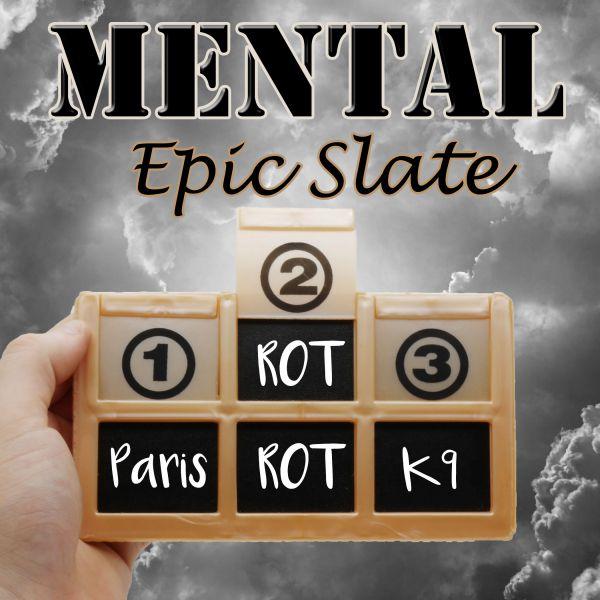 Mental Epic Slate - Pocket Mentaltrick Close Up