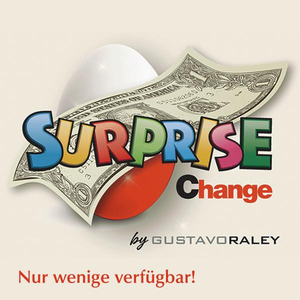 Geldschein zu Überraschungsei Zaubertrick