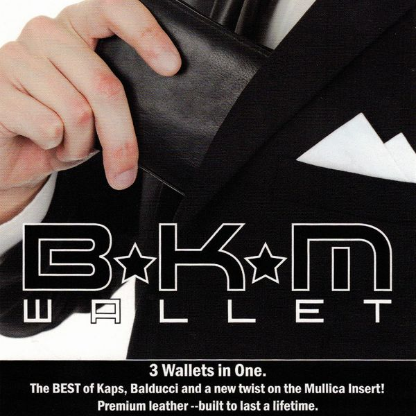 BKM Wallet Zaubertrick