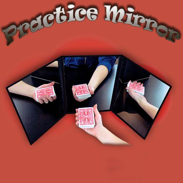 Practice Mirror Übungsspiegel für Zauberkünstler