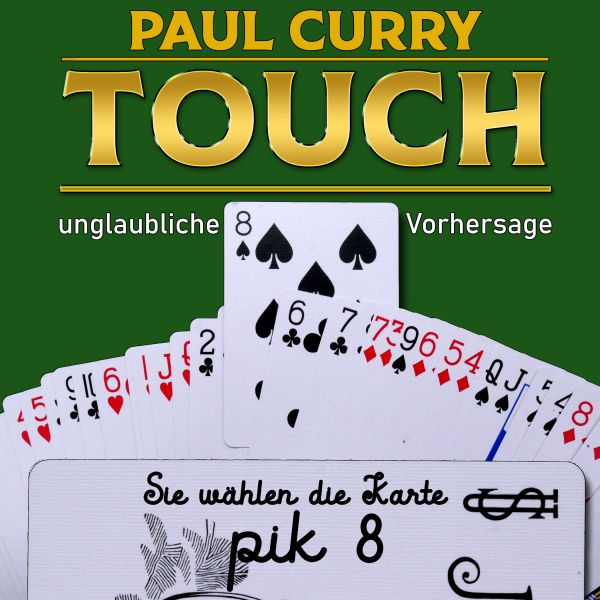 Touch von Paul Curry Mental Zaubertrick.