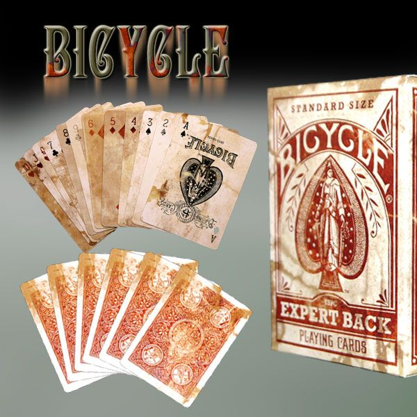 Bicycle Distressed Expert Back