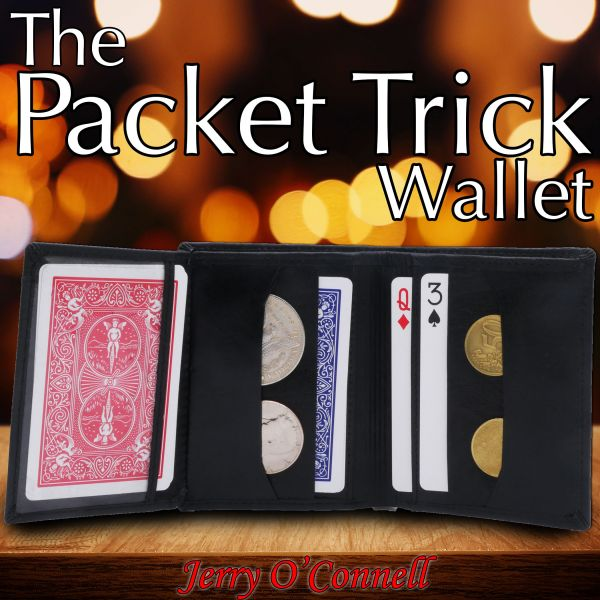 Packet Trick Wallet - Tan Leather by Jerry O'Connell
