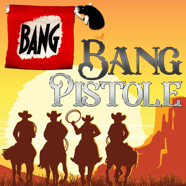 Bang Pistole Zauberzubehör und Comedy