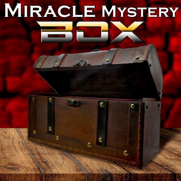 Miracle Mystery Box Zaubertrick Stand-Up