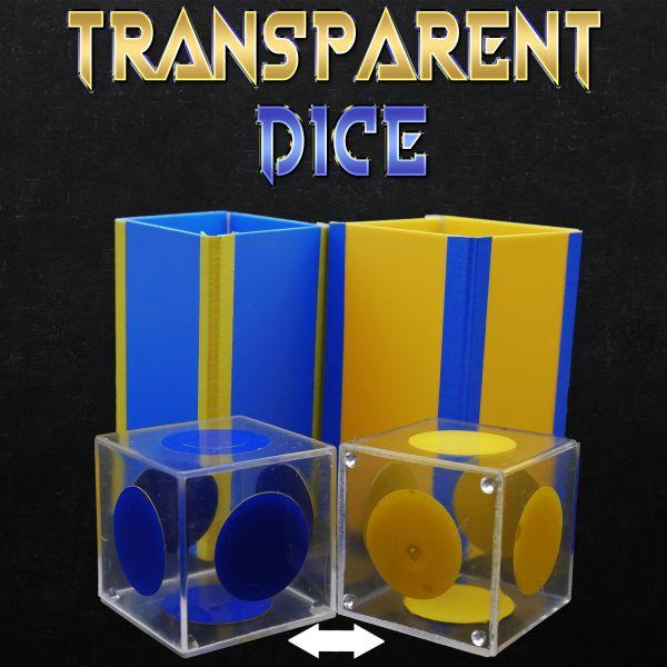 Transparent Dice - Magiro Zaubertrick