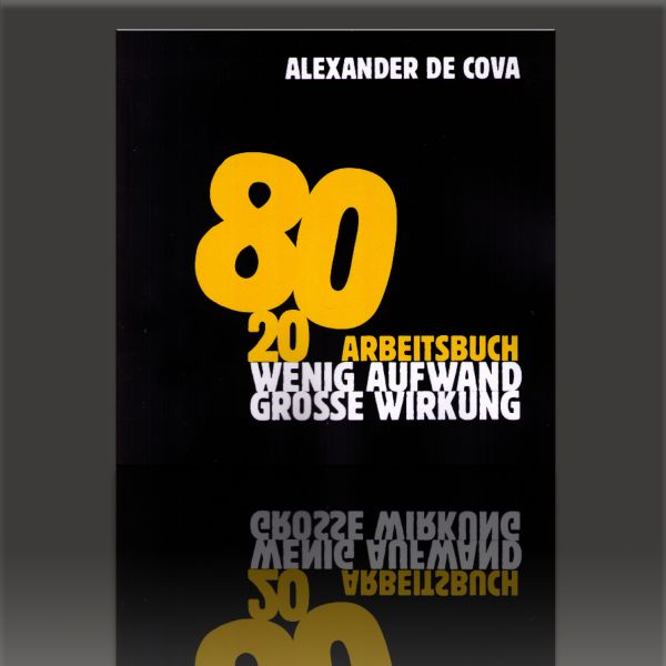 Arbeitsbuch 80/20 Alexander de Cova Zauberbuch