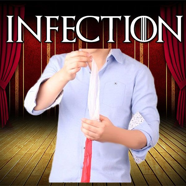 Infection Zaubertrick Stand-Up