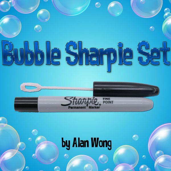 Bubble Sharpie Set by Alan Wong Zauberzubehör