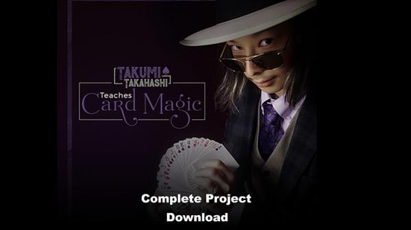 Takumi Takahashi Teaches Card Magic (Complete Project) video DOWNLOAD