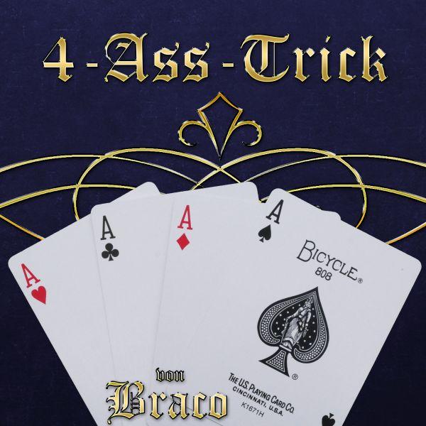 Braco Asse 4-Ass Kartentrick