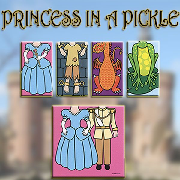 Princess in a Pickle Zaubertrick Stand-Up