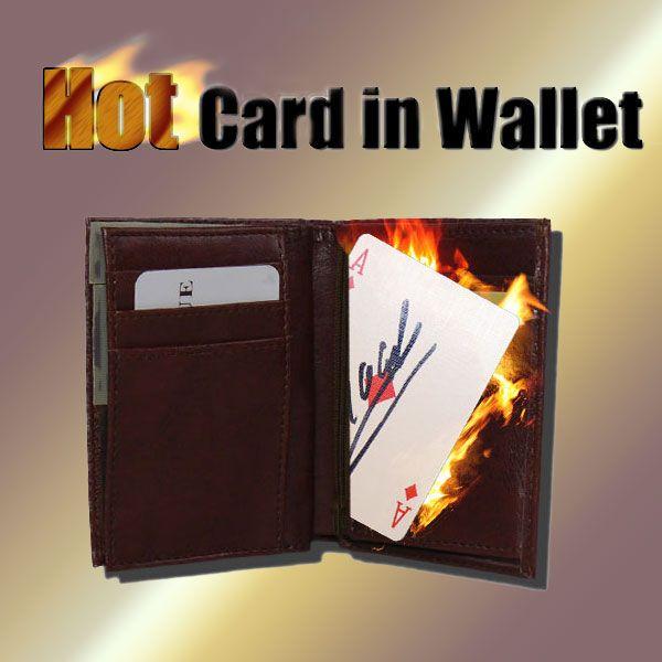 Hot Card in Wallet Trickbrieftasche für Zauberkünstler