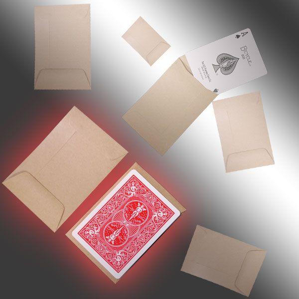 Manila Envelopes Zauberzubehör