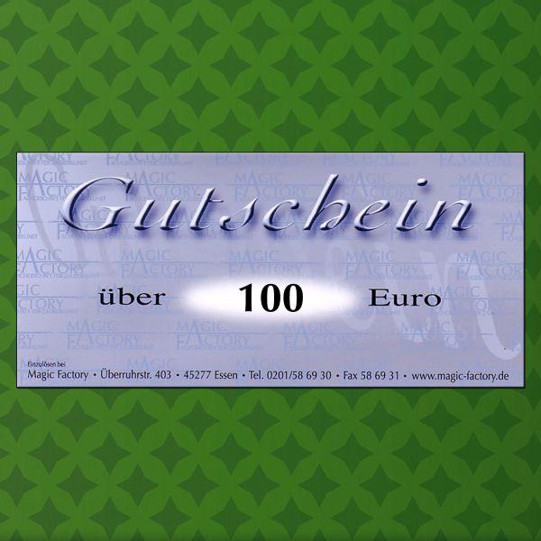 Gutschein für Zaubertricks 100€