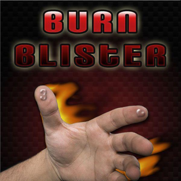 Burn Blister Kartentrick