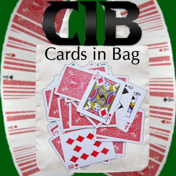 C.I.B. Cards in Bag - Dominique Duvivier Kartentrick Stand Up