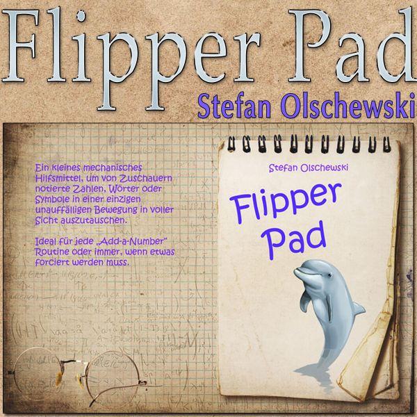 Flipper Pad Hilfsmittel für Mentalisten zur Informationsbeschaffung