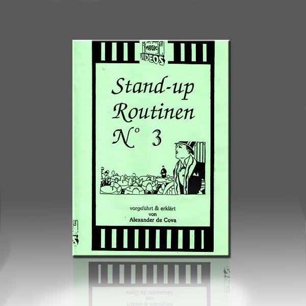 Stand-Up Routinen 3 DVD De Cova