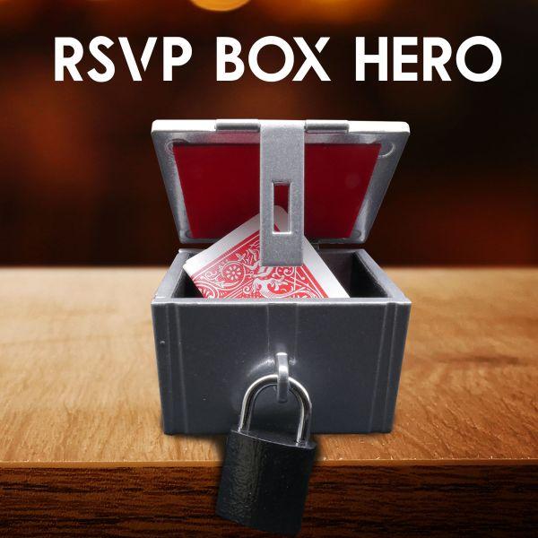 RSVP BOX HERO Silver Samura Zaubertrick