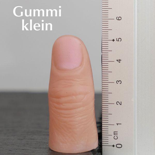 Daumenspitze Gummi Zaubertrick