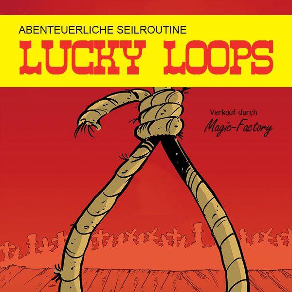 Lucky Loops Zaubertricks mit Seilen Stand-Up