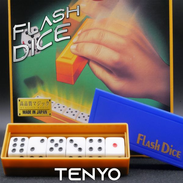 Flash Dice - Tenyo Magic Zaubertrick