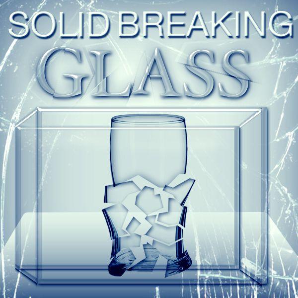solid breaking glass Mentalzaubertrick Stand Up