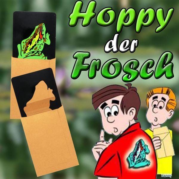 Hoppy der Frosch Zaubertrick für Kinder