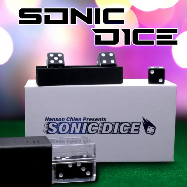 Sonic Dice by Hanson Chien Zaubertrick Close Up