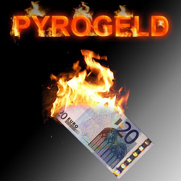 Pyrogeld Zaubertrick Stand-Up