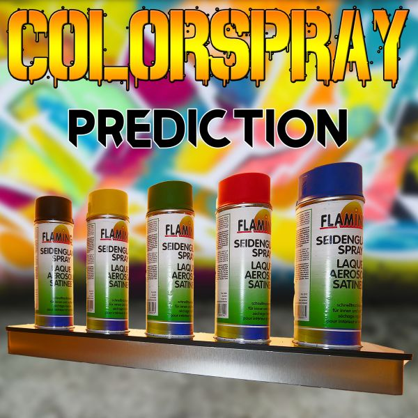 Color Spray Prediction Zaubertrick Stand-Up