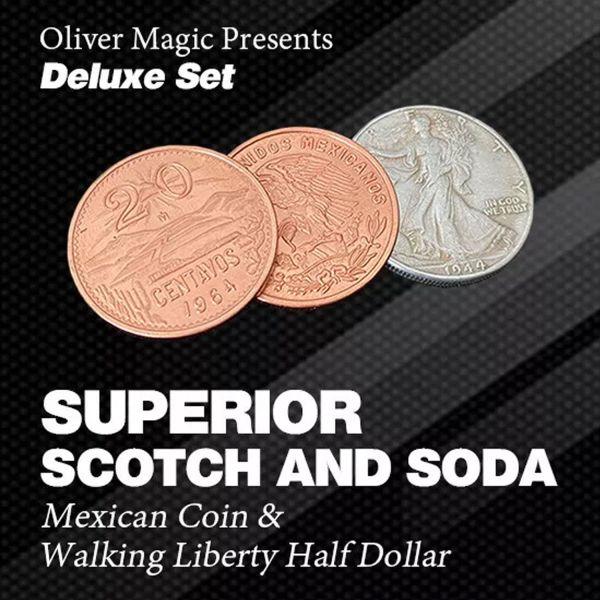 Superior Scotch and Soda Zaubertrick mit Münzen