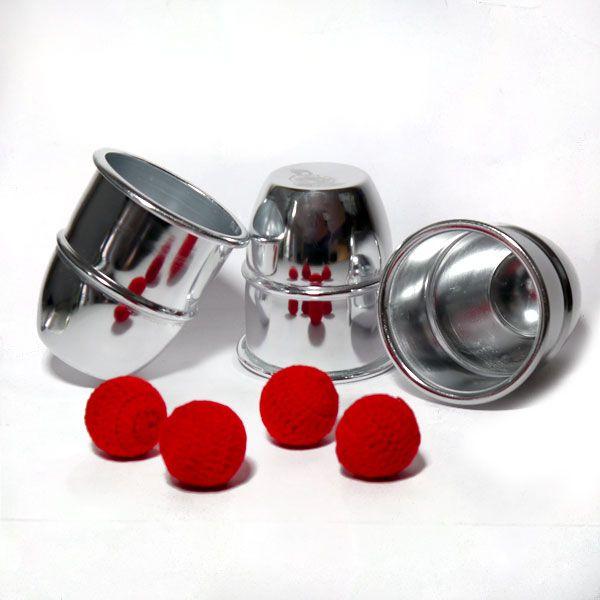 Becherspiel Aluminium
