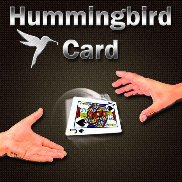 Hummingbird Card mit DVD Kartentrick