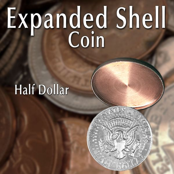 Expanded Shell Half Dollar