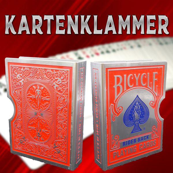 Kartenklammer Zauberzubehör