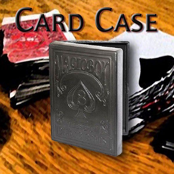 Card Case by di Fatta einfaches Kartenaustausch Gimmick Zubehör für Zauberkünstler